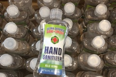 Liquidation/Wholesale Lot: 12 Ultra Defense Sani-Smart Hand Sanitizer 8 oz Bottles