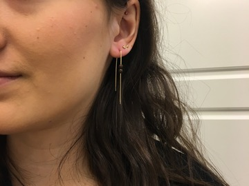 Selling: Copper thread in earrings