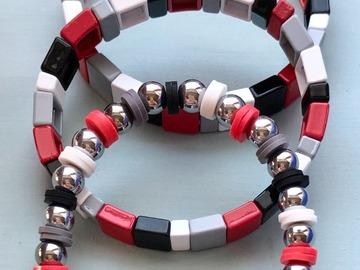 Selling A Singular Item: College Enamel Tile Bracelet