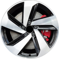 "Selling: 18x7.5"" Reproduction Alloy Wheel for 2019-2021 VW Volkswagen GTI"