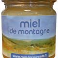 Vente avec paiement en ligne: Miel de montagne Bio - pot de 250g