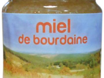 Vente avec paiement en ligne: Miel de bourdaine Bio - pot de 250g