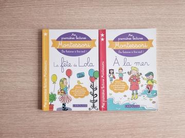 Vente avec paiement en ligne: Mes premières lectures Montessori - Set de 2 livres
