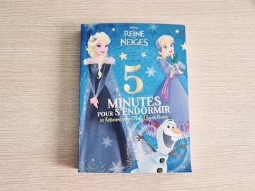 Vente avec paiement en ligne: La Reine des Neiges - 5 minutes pour s'endormir