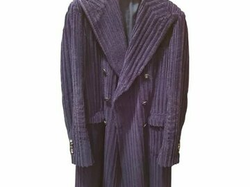 Selling with online payment: Pino Lerario Tagliatore tg. 46 Blue Corduroy