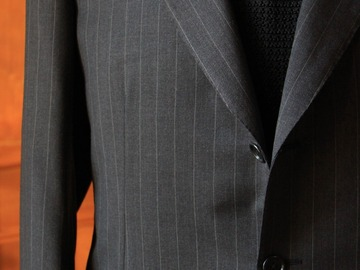 Online payment: Belvest super 100's pinstripe suit 42UK/52IT