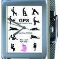 Vente: Montre l'amour en GPS pour Elle