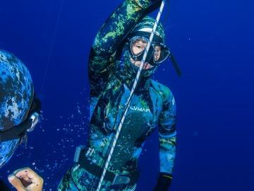 Cours d'apnée: Discover freediving: Apnea Total Intro freediver in Tenerife