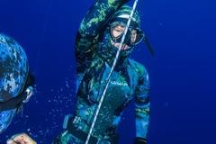 Freediving courses: Discover freediving: Apnea Total Intro freediver in Tenerife