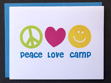 Selling multiple of the same items: Peace Love Camp