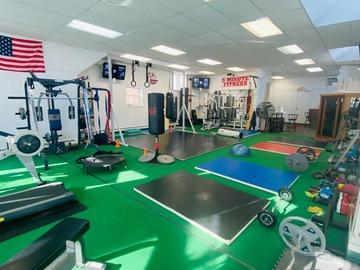 List a Space: Full Studio Gym