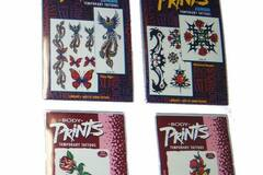 Liquidation/Wholesale Lot: Assorted Temporary Tattoos Only 6 Cents Each By The Pallet