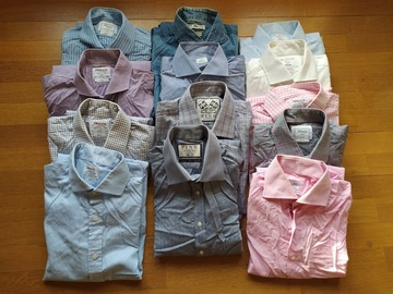 Online payment: Pre-owned Shirts size 15.5/39