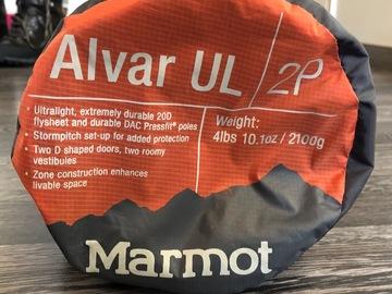 Vuokrataan (yö): Marmot Alvar UL 2P