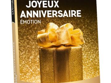 """Vente: Coffret Wonderbox """"Joyeux anniversaire Émotion"""" (49,90€)"""
