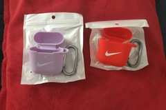 Liquidation/Wholesale Lot: 15 AirPods Case Protective Cover Case Skin Keychain for AirPod