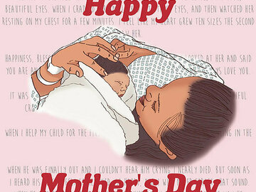 For Sale: Happy Mother's Day Card – First Mothers Day