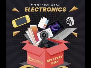 Liquidation/Wholesale Lot: Electronics and GM  Mystery Box