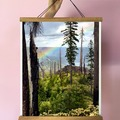 Selling with online payment: Santiam Rainbow Print