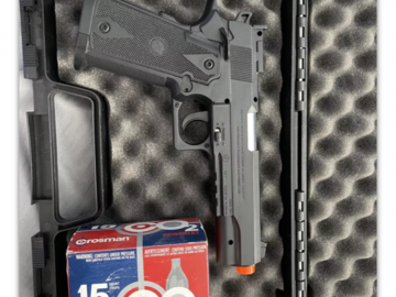Selling: TSD Sports CO2 Gas Powered Non-Blowback Airsoft Pistol with Case