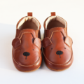 : Baby / Toddler Genuine Leather Bear Sneakers