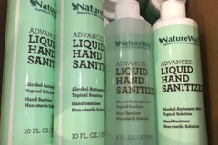 Liquidation/Wholesale Lot: 27 NatureWell 80% Alcohol Hand Sanitizer 8 oz