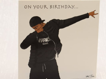 For Sale: On Your Birthday – Black Boys Greeting Card