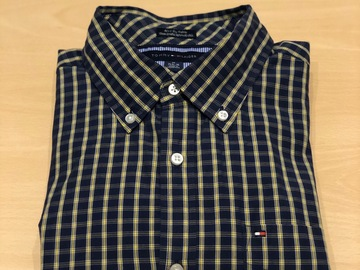 Selling with online payment: Tommy Hilfiger Checked Oxford Shirt