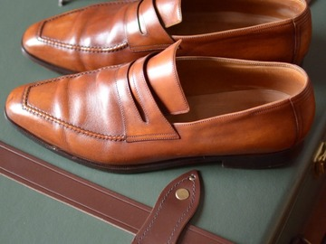 """Online payment: Berluti loafers """"Andy"""" - 10.5UK"""