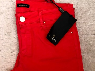 Selling with online payment: Orange-red trousers