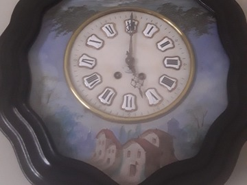 Faire offre: Ancienne horloge à réparer