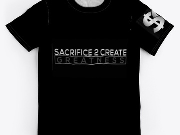 Selling with online payment: Sacrifice and Success T-Shirt