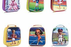 Liquidation/Wholesale Lot: (36) 3D Insulated Lunch Bag For Kids Assort $19  ret. only $3.75