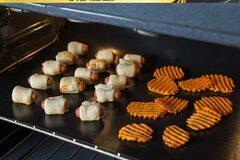 "Liquidation/Wholesale Lot: 23 x 16 ""non stick oven liners/BBQ mats 3 per pack-24 pack lot"