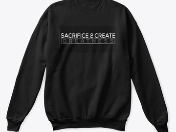 Selling with online payment: Sacrifice and Success Collection Crewneck Sweater