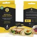 Liquidation/Wholesale Lot: Beeswax Food Wraps 4pk-Reusable -lot of 24 (96 food wraps)