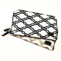 Liquidation/Wholesale Lot: ADORN – Women's Travel Zippered Cosmetic Bag – Monochrome Design
