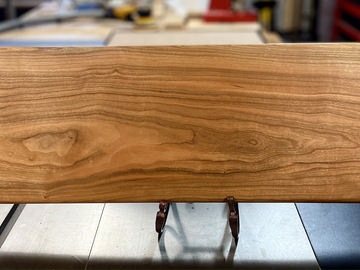 Selling with online payment: Black Cherry Wood Cutting / Charcuterie Board