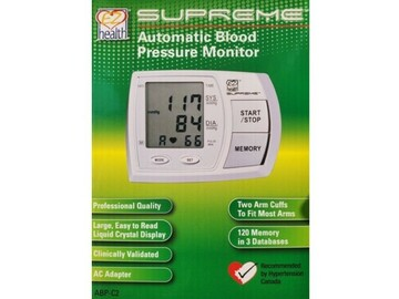 SALE: Supreme Automatic Blood Pressure Monitor | Buy in Toronto