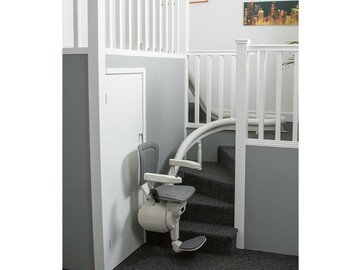 QUOTE/CONSULTATION: Custom Curved Stairlifts Installed in Greater Toronto Area
