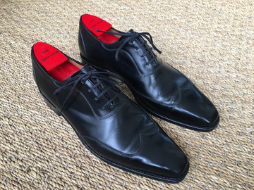Online payment: J. Fitzpatrick oxfords - MTO Rainier MGF Last, black calf - UK 7