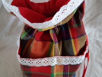 Vente au détail: Trousse sac pochon créole