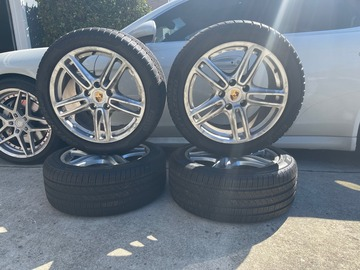 "Selling: 2010 2017 PORSCHE PANAMERA FACTORY OEM 19"" WHEELS RIMS 19X9 19X10"