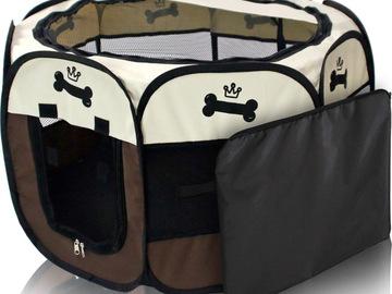 Liquidation/Wholesale Lot: 4 Portable Pet Playpens!!!