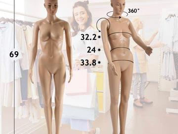 Liquidation/Wholesale Lot: Full Body Mannequin
