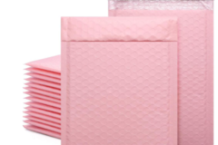 Selling products with online payment: Pink Bubble Mailer Bag