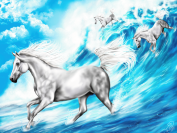 Sell Artworks: Horses in Freedom