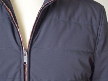 Online payment: Luciano Barbera navy bomber jacket UK40