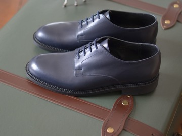"Online payment: J.M. Weston ""Miles"" derby shoes UK 6"