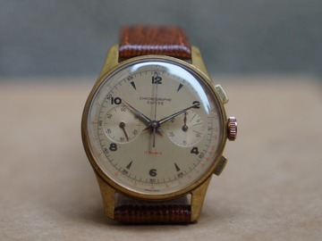 Online payment: Watch Chronographe Suisse vintage hand winding